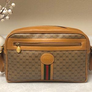 Vintage 😍GUCCI😍 Rare Monogram Shoulder Bag
